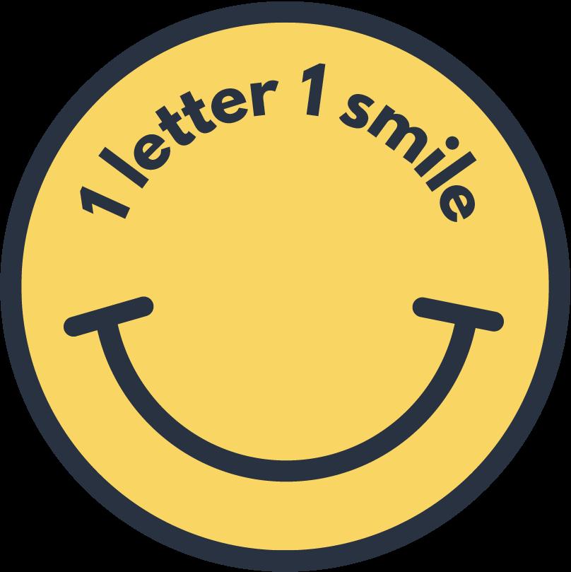 1 lettre 1 sourire