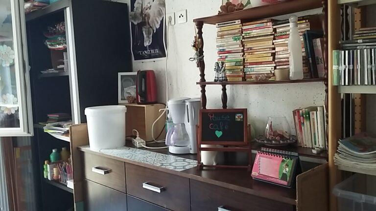 Photo de l'article : Coin pour la pause café des résidents