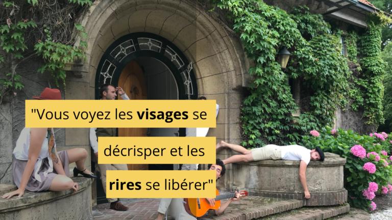 Read more about the article Des acteurs, des EHPAD et des lettres