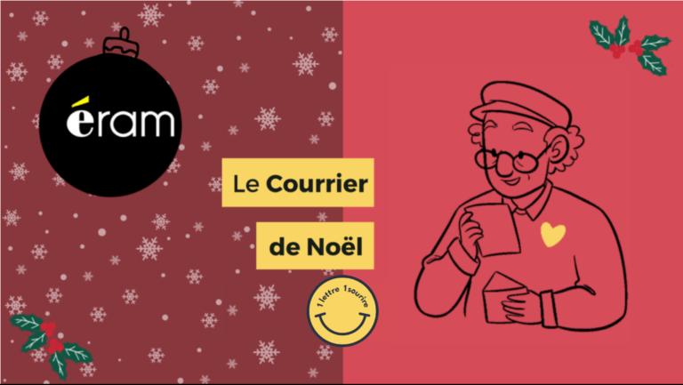 Read more about the article Le courrier de Noël avec 1 Lettre 1 Sourire et Eram