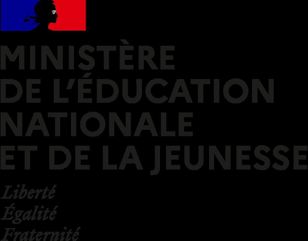 Nos partenaires - image Ministère de l'Éducation nationale, de la Jeunesse et des Sports