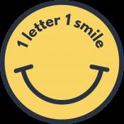 Logo 1 lettre 1 sourire